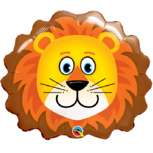 "Lovable Lion Foil Balloon (14"" Air-Fill) 1pc"